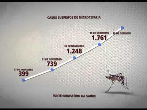 País registra 2.401 casos suspeitos de microcefalia