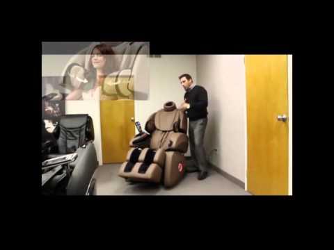 Osaki - Executive Zero Gravity S-Track Heating Massage Chair OS-7200H Brown