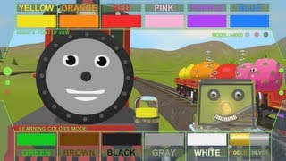 Help Shawn The Train teach the robot about colors! (Learn Colors!)