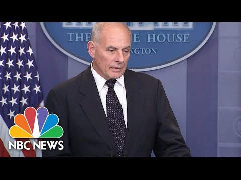 General John Kelly 'Stunned' And 'Broken-Hearted' By Rep. Wilson's Condolence Call Claims | NBC News