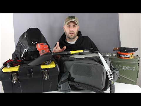 10 Questions For Building A Survival KIt or Emergency Bag (видео)