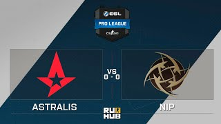 Astralis vs NiP, game 1