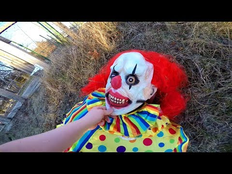 Is This Clown a Monster?  Creepy Clown Unmasking!