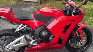6. 2013 Honda CBR600RR rider review/walk around