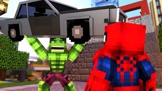 HULK v SPIDERMAN MURDER! | Minecraft Murder Mystery
