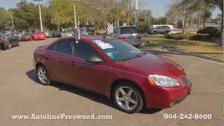 Autoline Preowned 2009 Pontiac G6 GT For Sale Used Walk Around Review Test Drive Jacksonville