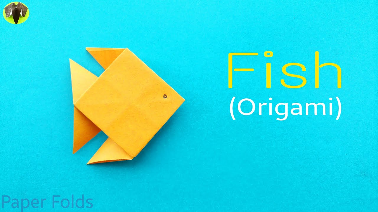 Animals birds origami arts and crafts for Go fish instructions