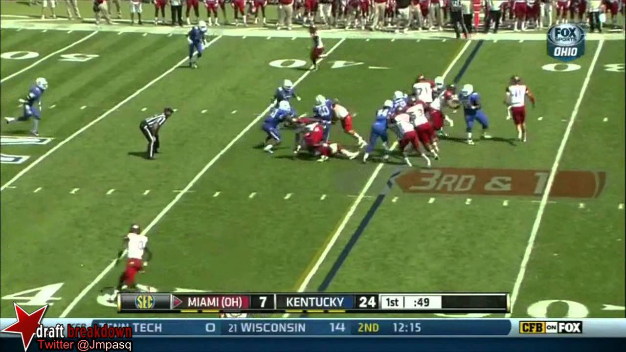 Za'Darius Smith vs Miami (Ohio) (2013)