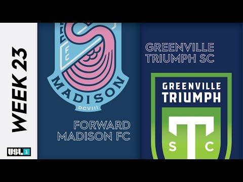 Forward Madison - Greenville 0:1. Видеообзор матча 29.08.2019. Видео голов и опасных моментов игры