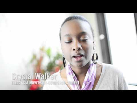 Crystal Walker talks about her experience at Texas A&M University-Commerce