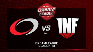 compLexity vs Infamous, DreamLeague Minor  SA, bo3, game 1 [ Lum1Sit & Mortalles]