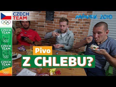 Food challenge: Běloruské jídlo vs. čeští sportovci