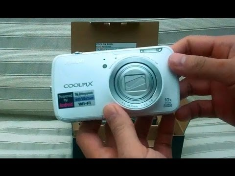 [HD] Nikon Coolpix S800c Android Camera Unboxing Video