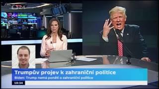 Trumpův projev k zahraniční politice