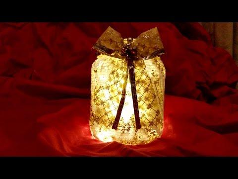 lanterna natalizia in pizzo