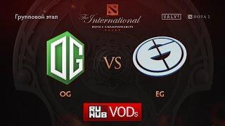 OG vs Evil Geniuses, game 2