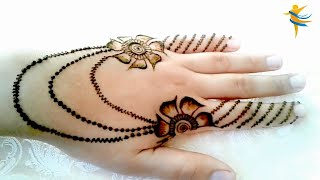 Download Lagu The Design Of Henna Is Very Simple Easy And Modern