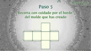 Cómo hacer un cubo de papel o cartón paso a paso  INNATIA.COM