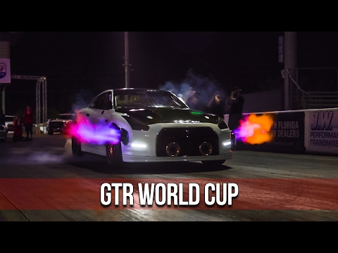 First Ever GTR World Cup