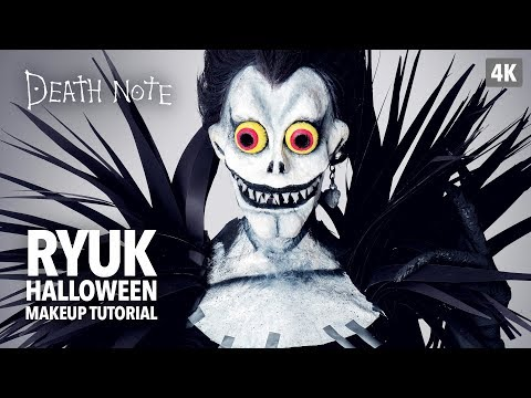 Death Note: Ryuk Halloween Makeup Tutorial