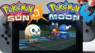 NEWS LEAK: POKEMON SUN AND MOON WILL BE ON THE NINTENDO SWITCH! by Verlisify