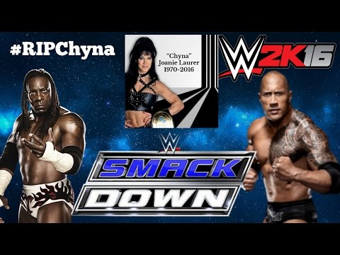 """R.I.P Chyna"" [WE LOVE & MISS YOU] - WWE Smackdown [WWE 2K16 Universe Mode]"
