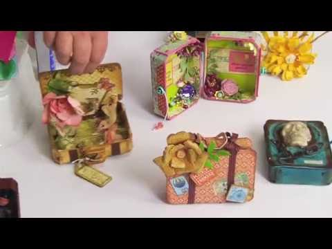 ScoreBoards Die DIY with Eileen Hull: Make a Cute Little Suitcase