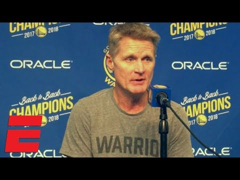Video: Steve Kerr calls Kevin Durant's 49-point performance against the Magic 'incredible' | NBA on ESPN