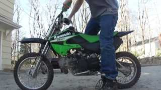 9. 06 Kawasaki KLX 110 Start Up
