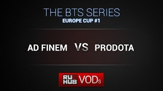 Ad Finem vs ProDota, game 1
