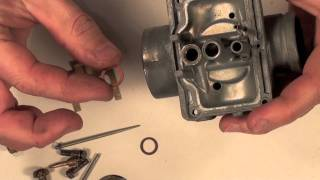 7. Mikuni Carb Series # 3  assembly video with details.