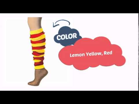 tubered - See our great product here http://www.clownantics.com/leg-warmers-22/leg-warmer-striped-tube-red/lemon-22?utm_source=youtube&utm_medium=video&utm_campaign=tr...