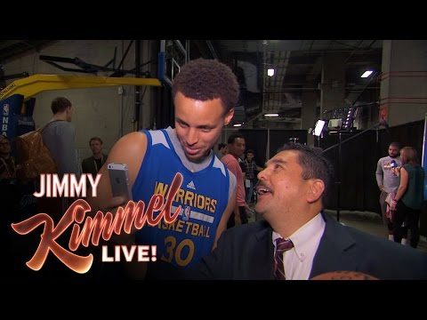 Guillermo at NBA Finals Media Day 2015