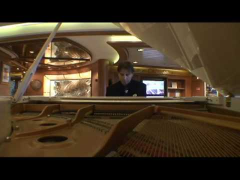 """When I Fall In Love"" / By Pianist Nick Lido  / Aboard The Coral Princess Cruise Ship"