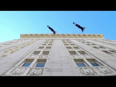 Đỉnh cao nghệ thuật khiêu vũ trên cao ốc Mỹ @@