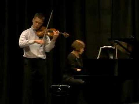 Benjamin Britten - Violin Concerto, Op. 15 - 1st mvmt