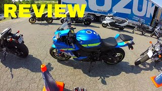 10. 2017 Suzuki GSX R600 Ride and Review