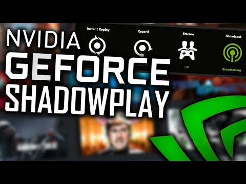 How to use Nvidia ShadowPlay/GeForce Experience Tutorial Best Quality Recording Settings (Fix Audio)
