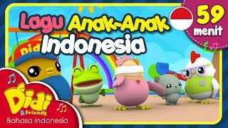 Video Lagu Anak Balita Indonesia | Pok Ame Ame & Lain-lain | Didi & Friends | 59 Menit MP3, 3GP, MP4, WEBM, AVI, FLV Mei 2018