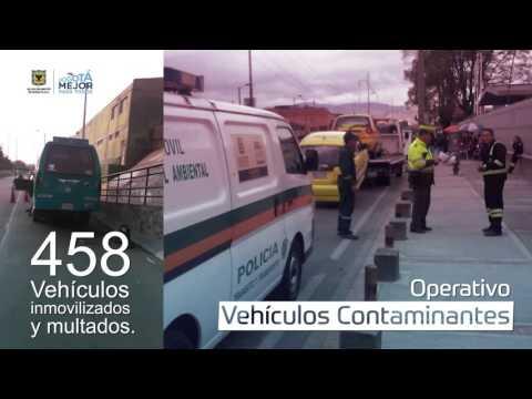Se le acaban los días a los #vehículoschimenea en Bogotá
