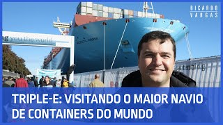 Video Por dentro do Triple-E: O maior Navio do Mundo MP3, 3GP, MP4, WEBM, AVI, FLV Desember 2018