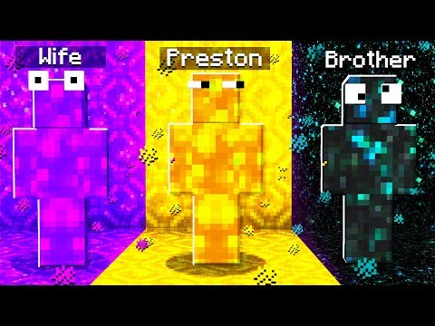 Extreme PORTAL Camo PRANK in Minecraft Hide & Seek!
