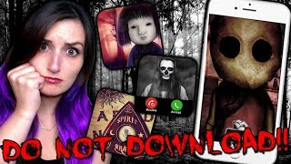 Video DO NOT DOWNLOAD THESE APPS...THEY'RE HAUNTED!! MP3, 3GP, MP4, WEBM, AVI, FLV Maret 2019