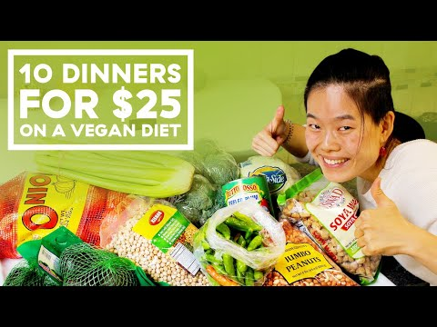 I Made 10 Vegan Dinners For Two People On A $25 Budget (In NYC!)