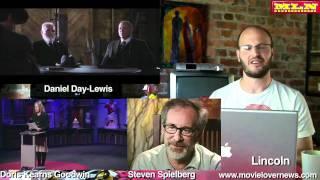 Lincoln - Daniel Day-Lewis,Steven Spielberg,Kearns Goodwin,Team of Rivals -- Tyrone Rubin Film Show