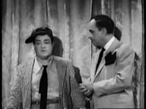 third - Abbott and Costello greatest skit.