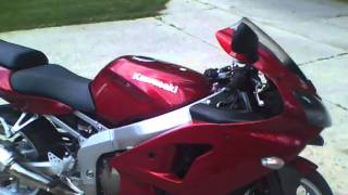 6. 2007 KAWASAKI ZZR600 ZZR 600 WALK AROUND