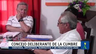 CON VARIOS TEMAS PARA TRATAR: ULTIMA SESION ORDINARIA DEL CONCEJO DELIBERANTE DE LA CUMBRE