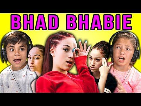 KIDS REACT TO BHAD BHABIE (видео)