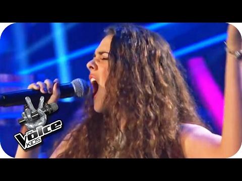 Rihanna - Diamonds (Shanice) | Halbfinale | The Voice Kids 2016 | SAT.1 (видео)